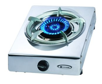 Natural gas wok burners