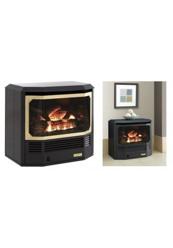 Free standing Archer gas fire without pedestal