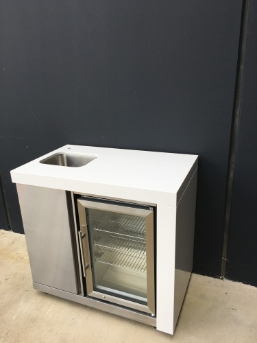 Grand Royale sink/fridge module