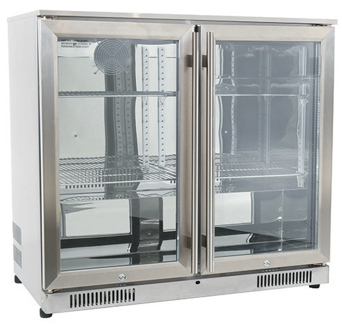 Gasmate 228L standard double door fridge