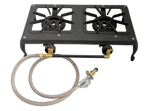 Country cooker dual burner