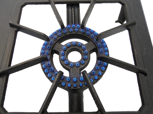 Country cooker triple burner