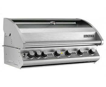 SC61P: 6 Burner Sunco Stainless Steel Build-In BBQ