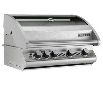 SC60P: 4 Burner Sunco Stainless Steel Build-In BBQ