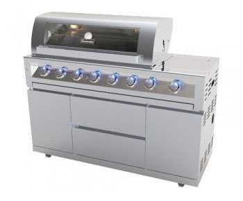 Galaxy 6 Burner Stainless Steel BBQ