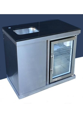 Grillmaster 8 Sink/Fridge Combination Module