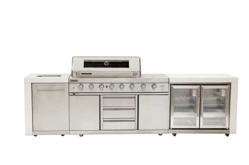 GM8 Grand Royale BBQ/sink/double fridge