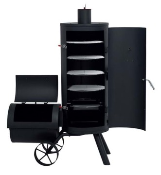 Ned offset vertical smoker
