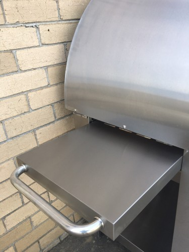 Charcoal pizza oven - back in stock!